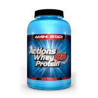 AMINOSTAR Actions Whey Protein 85% 1000 g - Banán