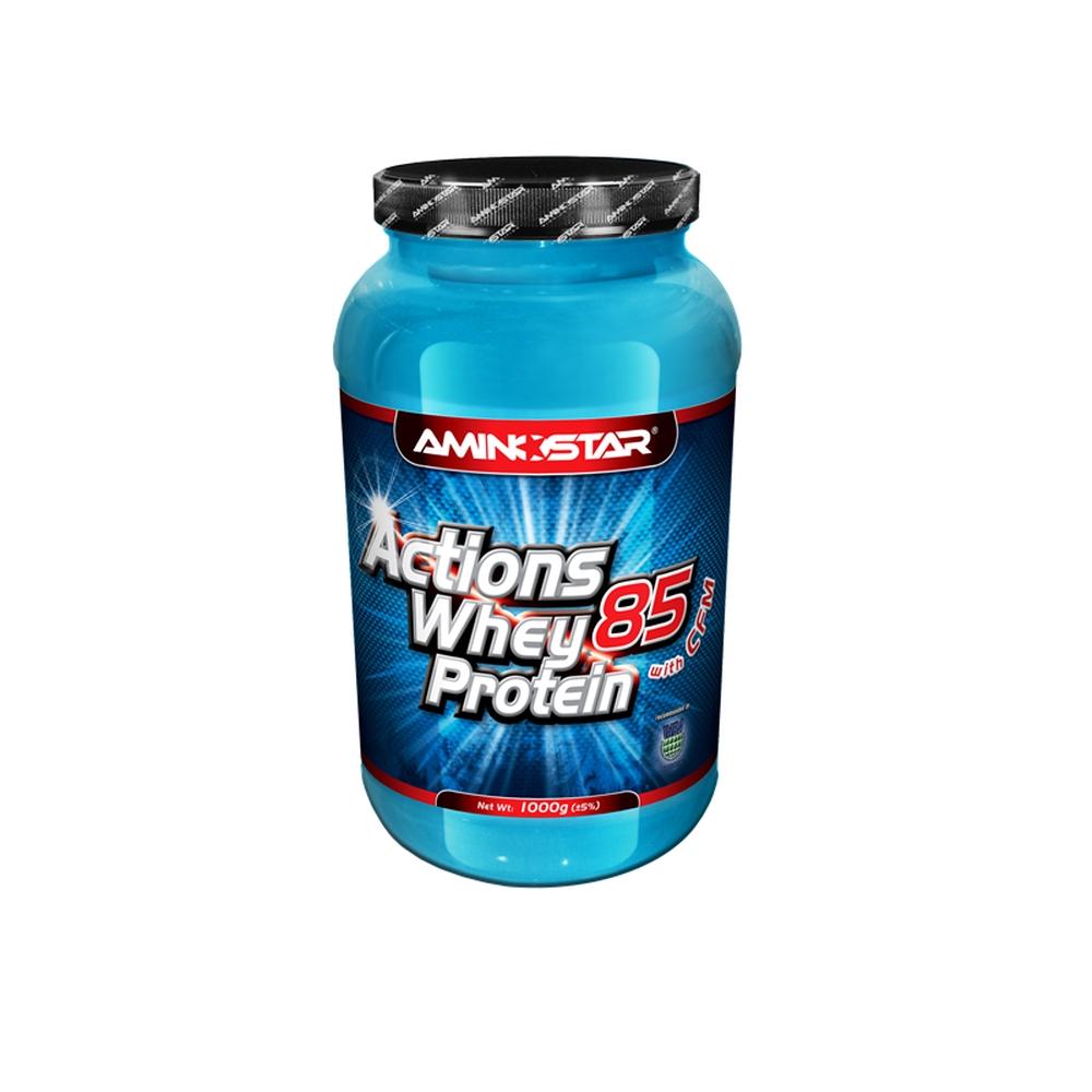 Aminostar Whey Protein Actions 85% 1000 g vanilka