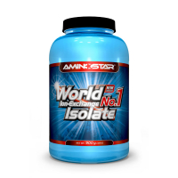 AMINOSTAR World No.1 Isolate 90% 900 g - Čokoláda