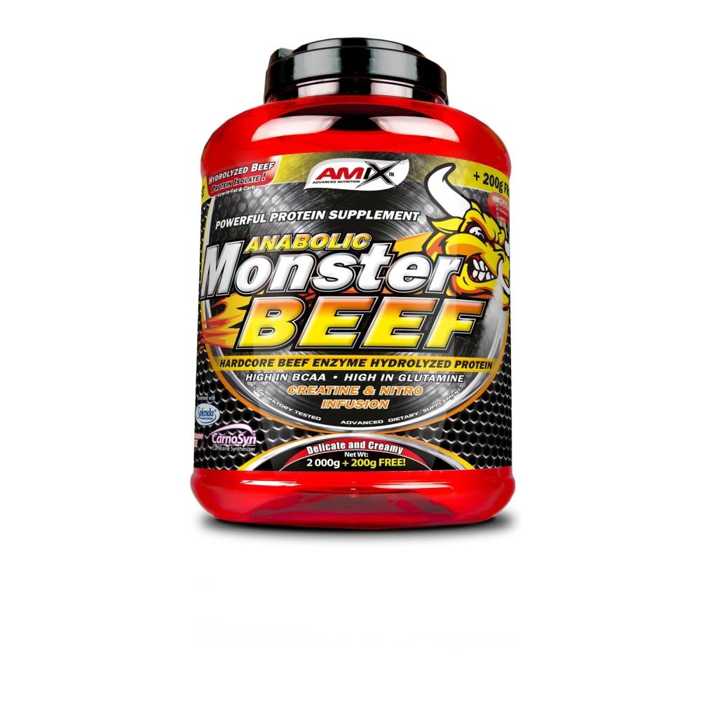 AMIX Anabolic Monster BEEF 90% Protein strawberry-banana 2200 g