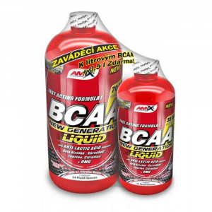 AMIX BCAA New Generation 1000 ml + 500 ml fruit punch