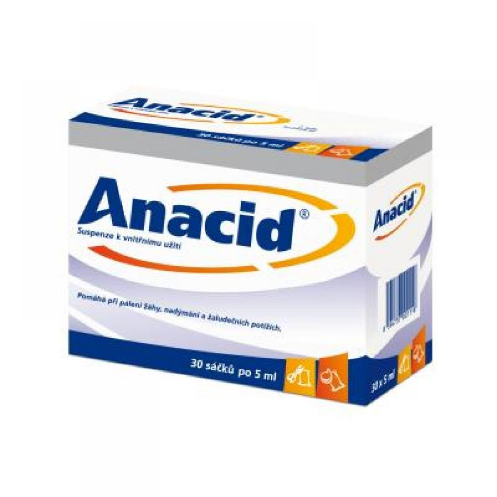 ANACID 30X5ML Suspenze