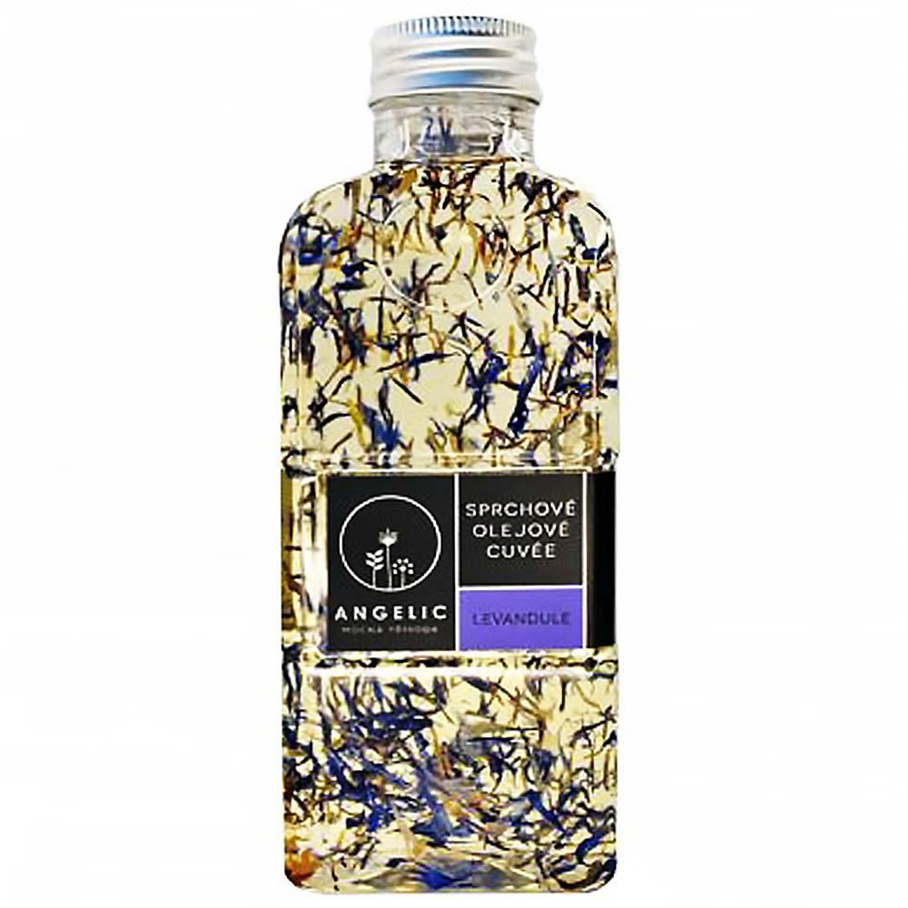 ANGELIC Sprchové olejové Cuveé Levandule 200 ml