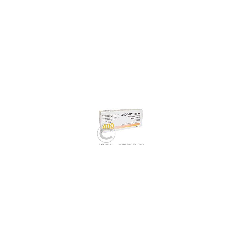 ANOPYRIN 400 MG 10X400MG Tablety