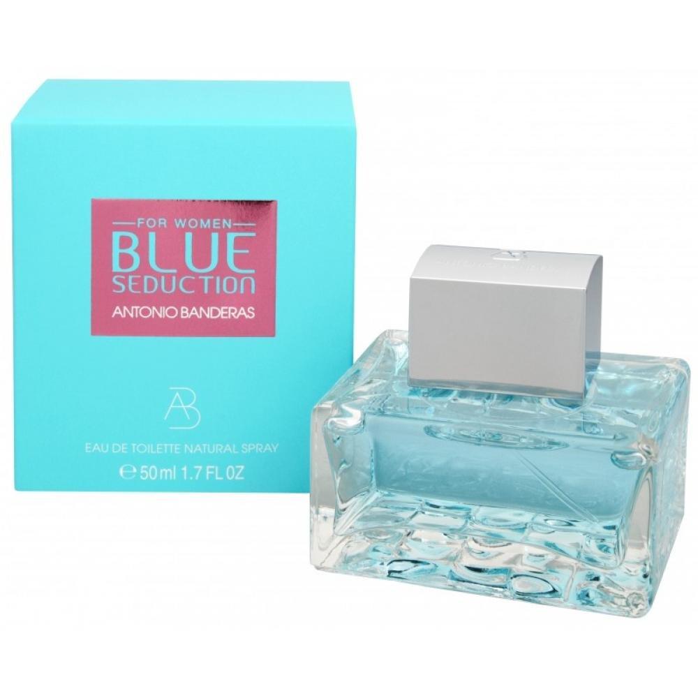 Antonio Banderas Blue Seduction For Women - toaletní voda s rozprašovačem 100 ml