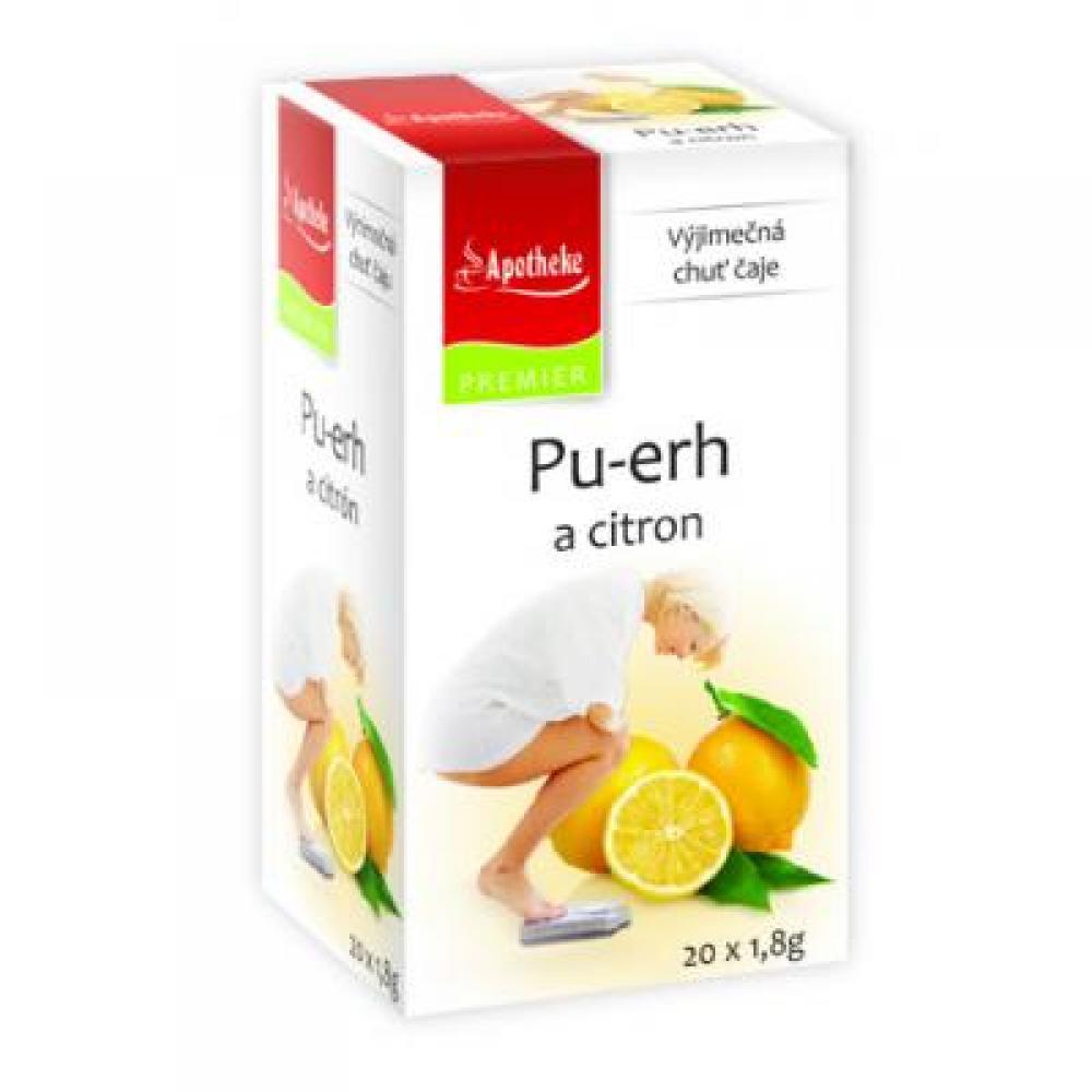 APOTHEKE Pu-erh a citron 20x1.8 g