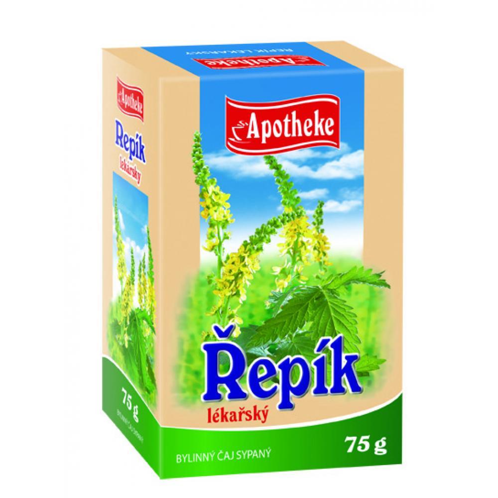 APOTHEKE Řepík lékařský - nať sypaný čaj 75g