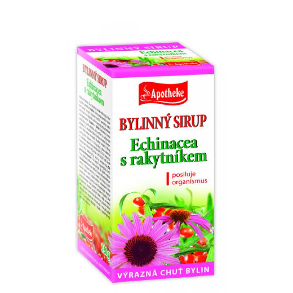 APOTHEKE Bylinný sirup echinacea s rakytníkem 320 g