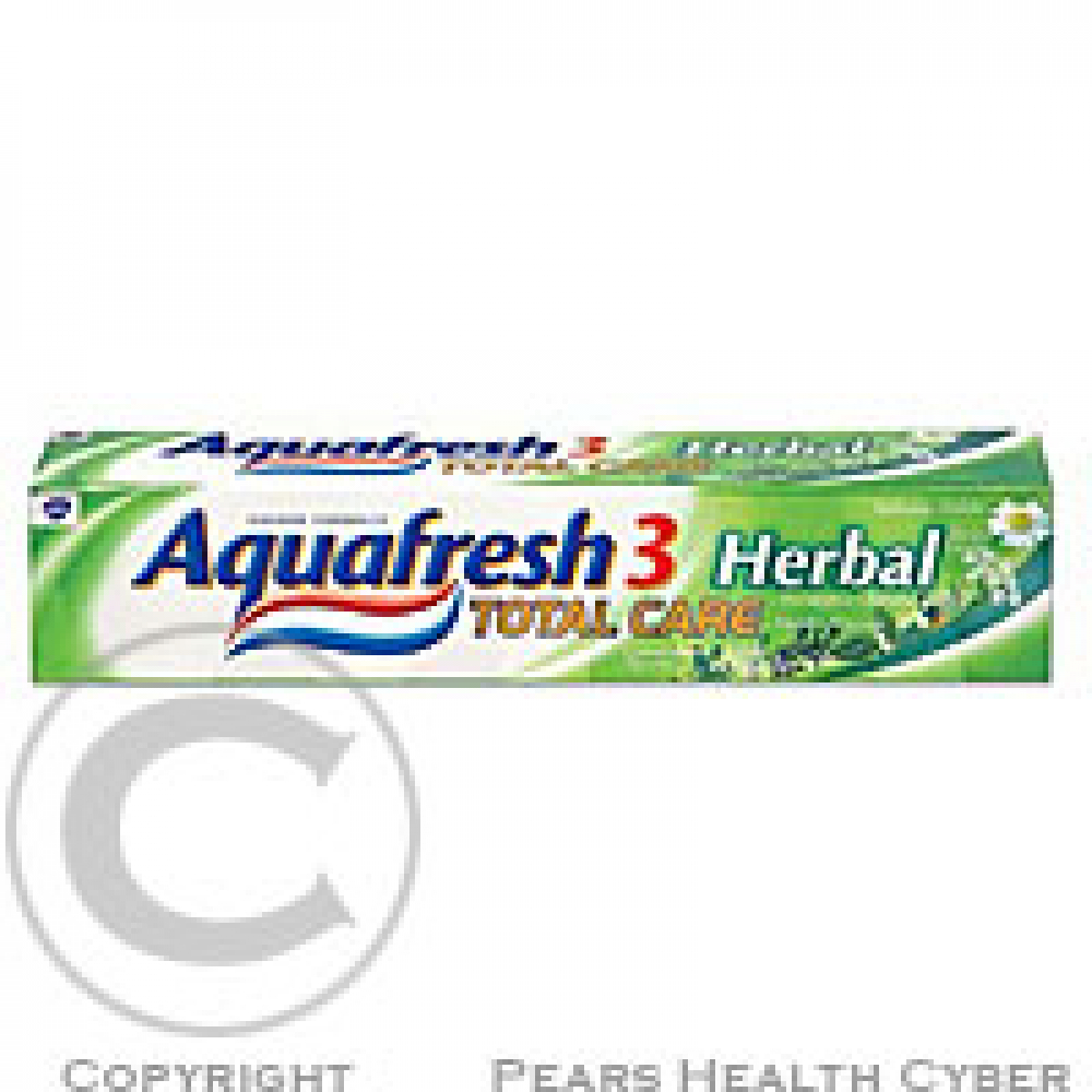 Aquafresh 3 Total Care Herbal zubní pasta 75ml