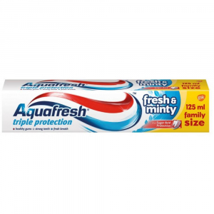 Aquafresh Fresh'n'Minty zubní pasta 125ml