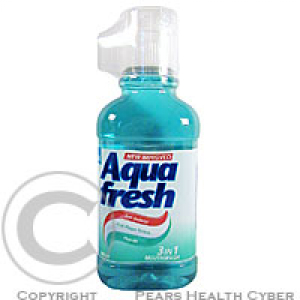 Aquafresh Mouthwash Mint-zelená 300 ml