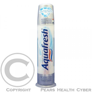 Aquafresh Whitening pump zubní pasta 100 ml