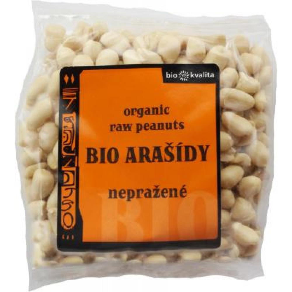 Arašídy loupané nepražené 200g-BIO
