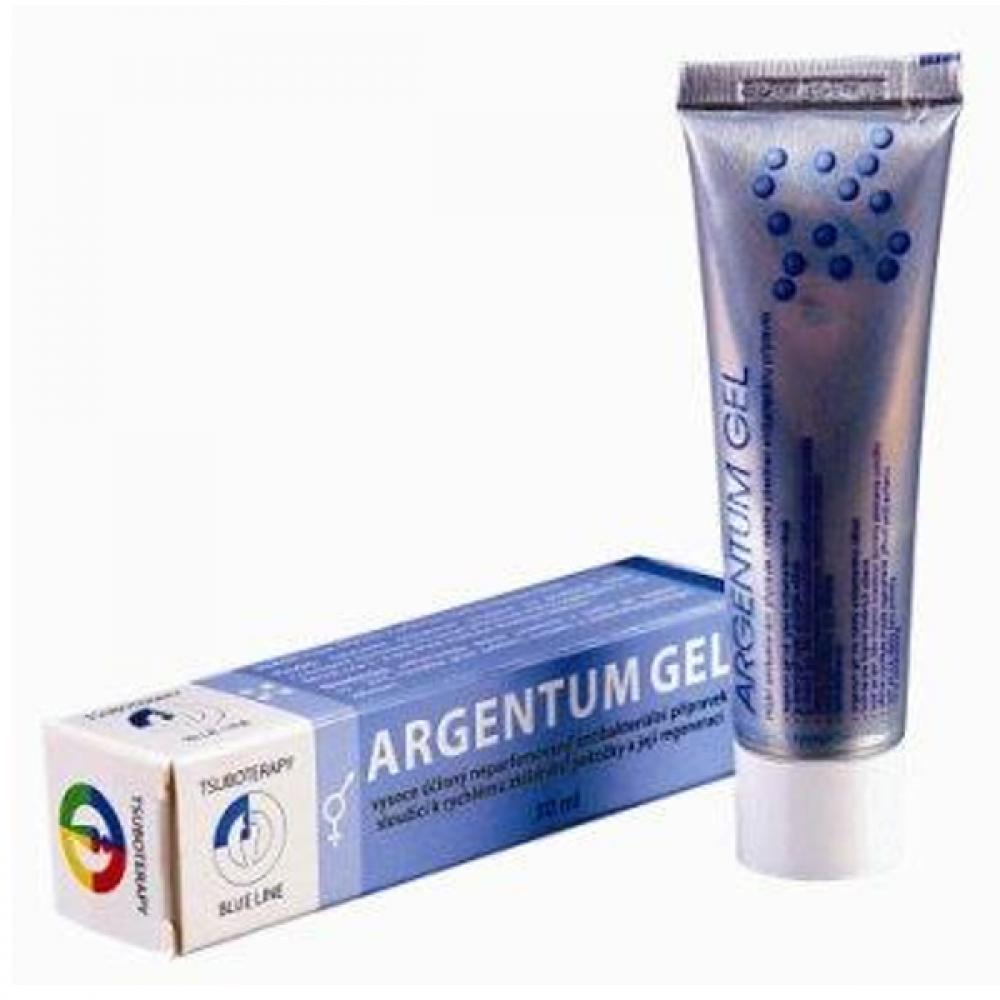 Argentum gel - místní antibakteriální přípravek 30 ml