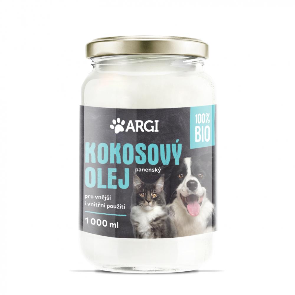 ARGI Kokosový olej pro psy BIO 1000 ml