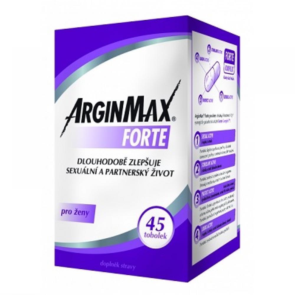 ARGINMAX Forte pro ženy 45 tobolek