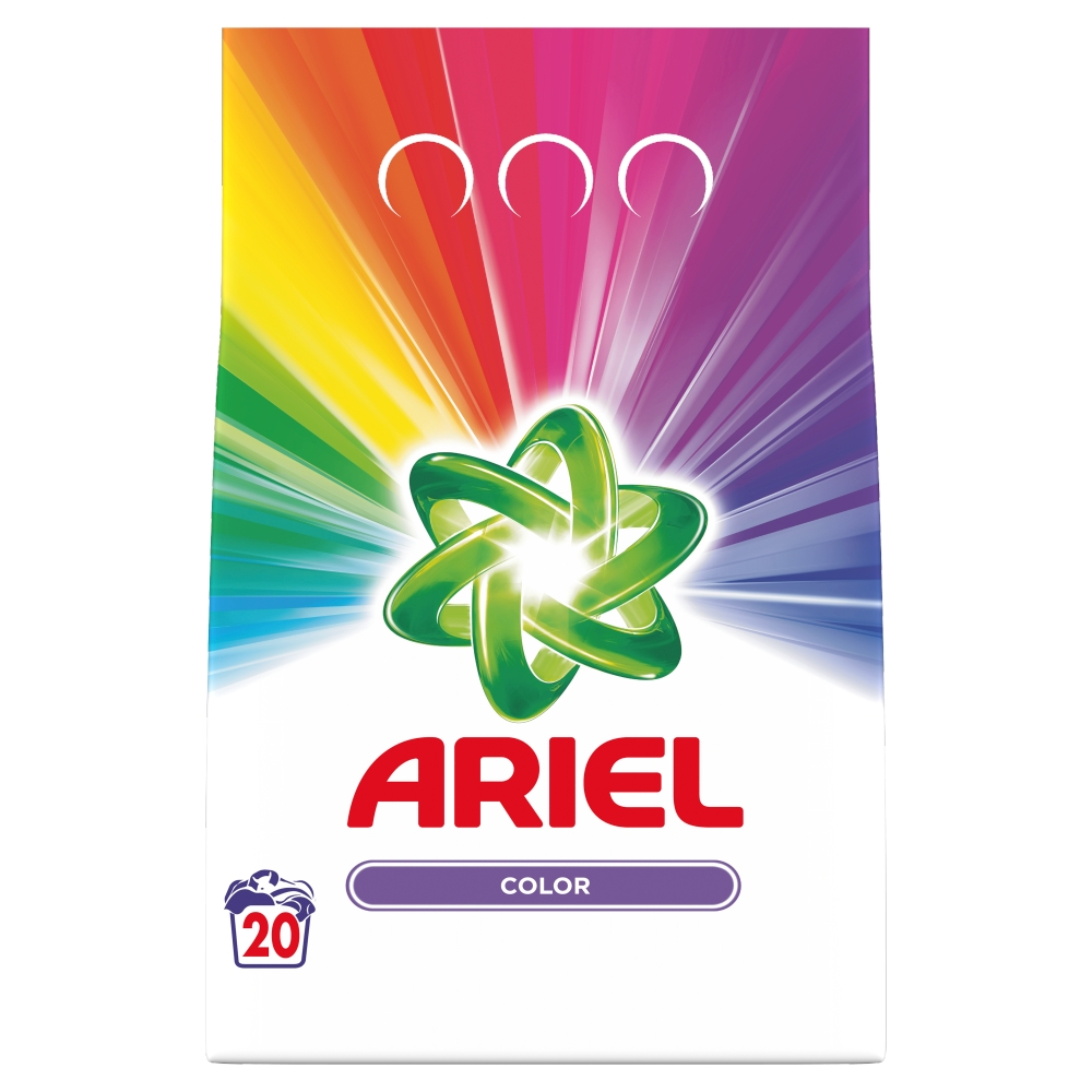 Ariel prášek Color & Style 1,4kg - 20 pracích dávek