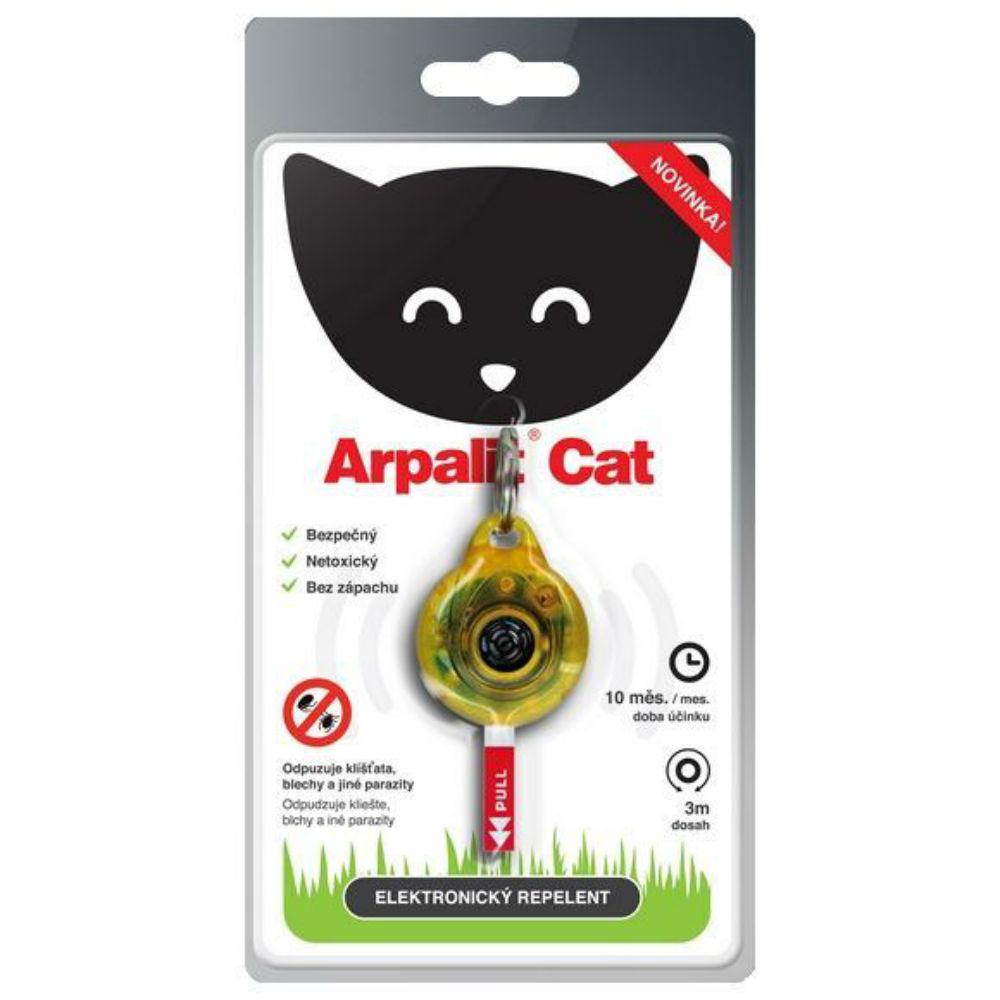 ARPALIT Cat Elektrický odpuzovač klíšťat pro kočky 1 kus