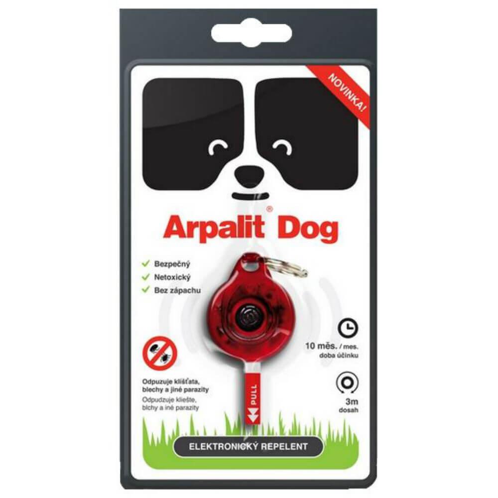 ARPALIT Dog Elektrický odpuzovač klíšťat pro psy 1 kus