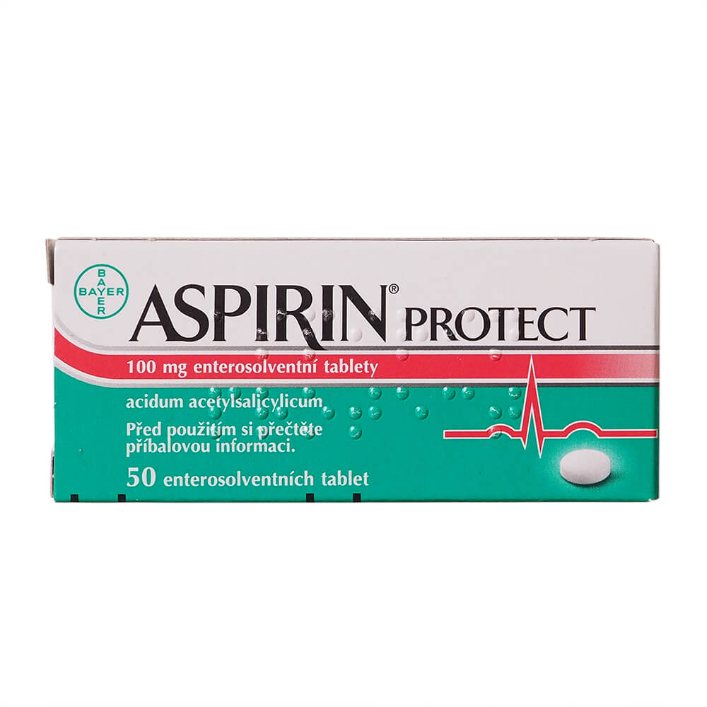 ASPIRIN Protect 100mg 50 enterosolventních tablet