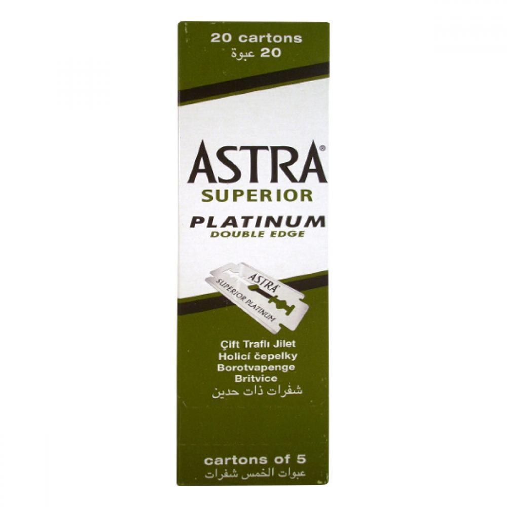ASTRA žiletky Platinum 5ks zelené