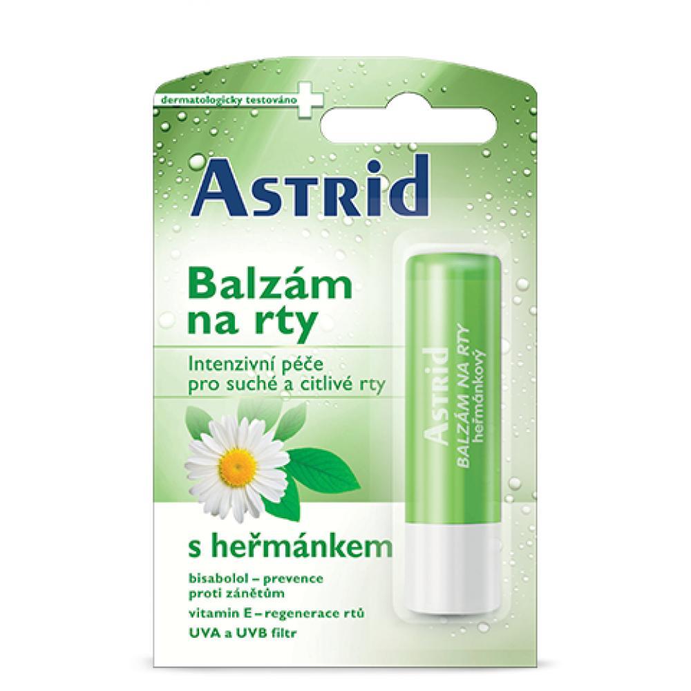ASTRID Balzám na rty heřmánkový 4,8 g