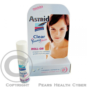 Astrid int. Clear Young Face roll-on 5.5 ml