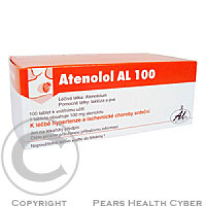 ATENOLOL AL 100  100X100MG Tablety