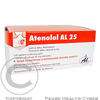 ATENOLOL AL 25  100X25MG Tablety