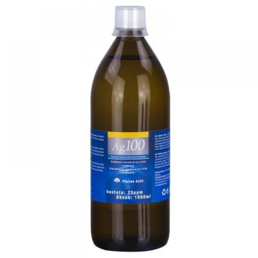 AURUM Koloidní stříbro Ag 100 25 ppm 1000 ml