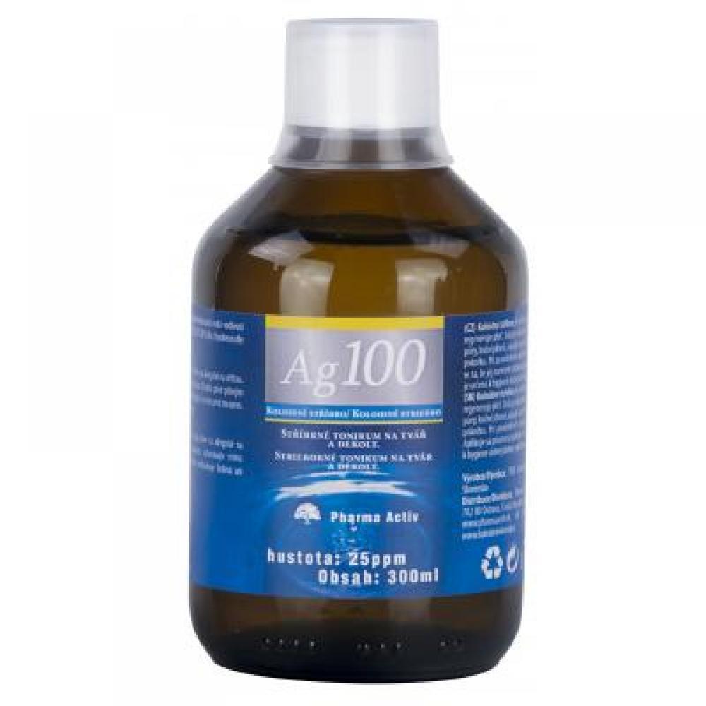 AURUM Koloidní stříbro Ag 100 25 ppm 300 ml