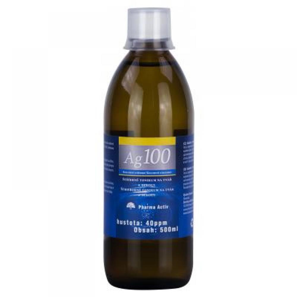 AURUM Koloidní stříbro Ag 100 40 ppm 500 ml