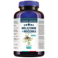 AURUM Sníček Melatonin + Mučenka 100 tablet
