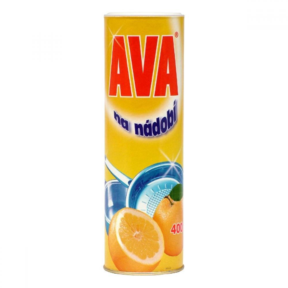 Ava na nádobí písek,400g-pap obal(žlutá)