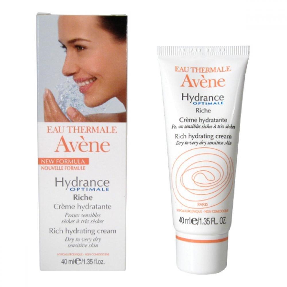 AVENE Hydrance optimale riche - Hydratační krém pro suchou citlivou pleť 40 ml