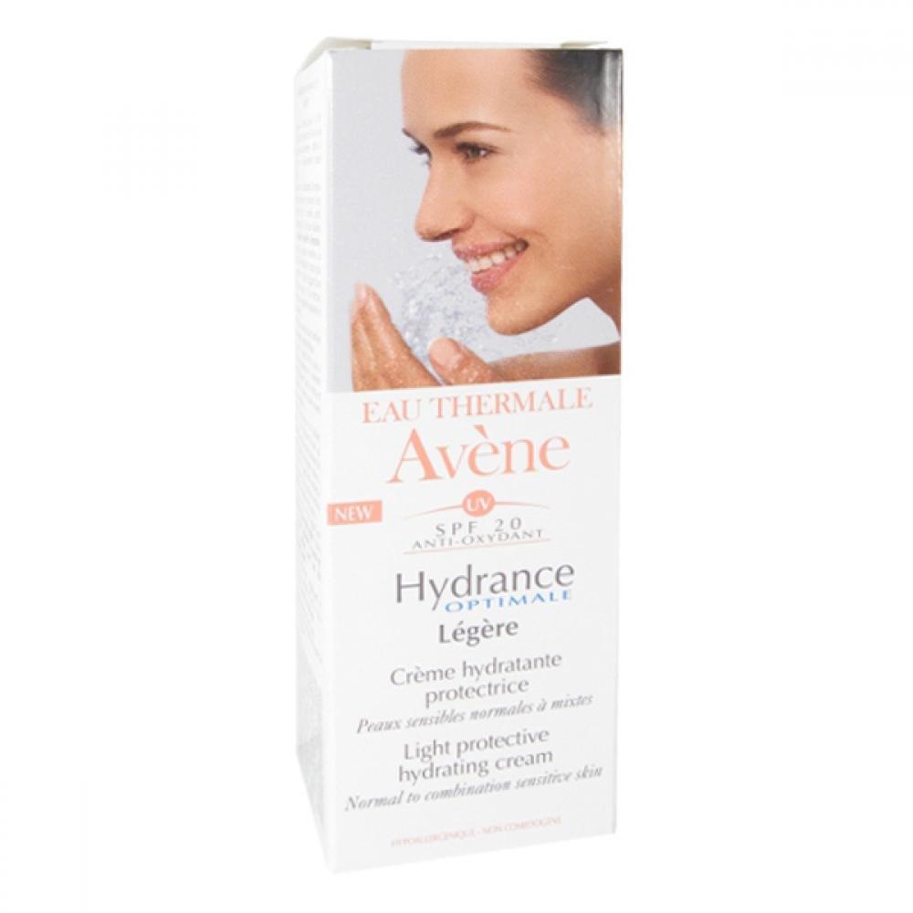 AVENE Hydrance optimale legere SPF 20 - Hydratační krém pro normální až smíšenou citlivou pleť s ochranným faktorem