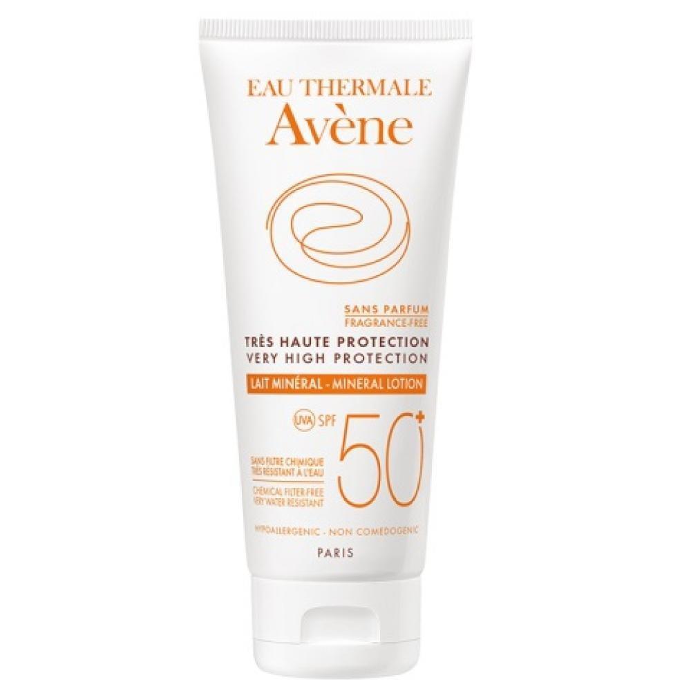 AVENE Lait 50+ mineral - Minerální mléko SPF 50+ pro intolerantní, velmi citlivou pokožku 100 ml