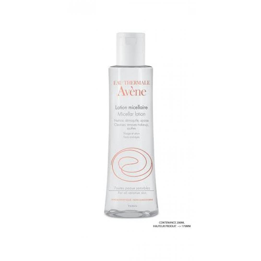 AVENE Lotion micellaire - Odličovací a čistící pleťová micelární voda 200 ml