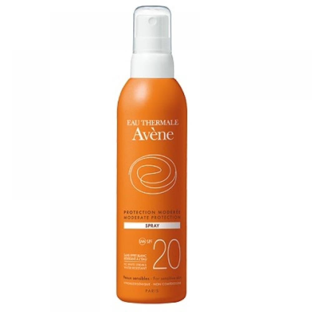 AVENE Spray 20 - Sprej SPF 20 200 ml
