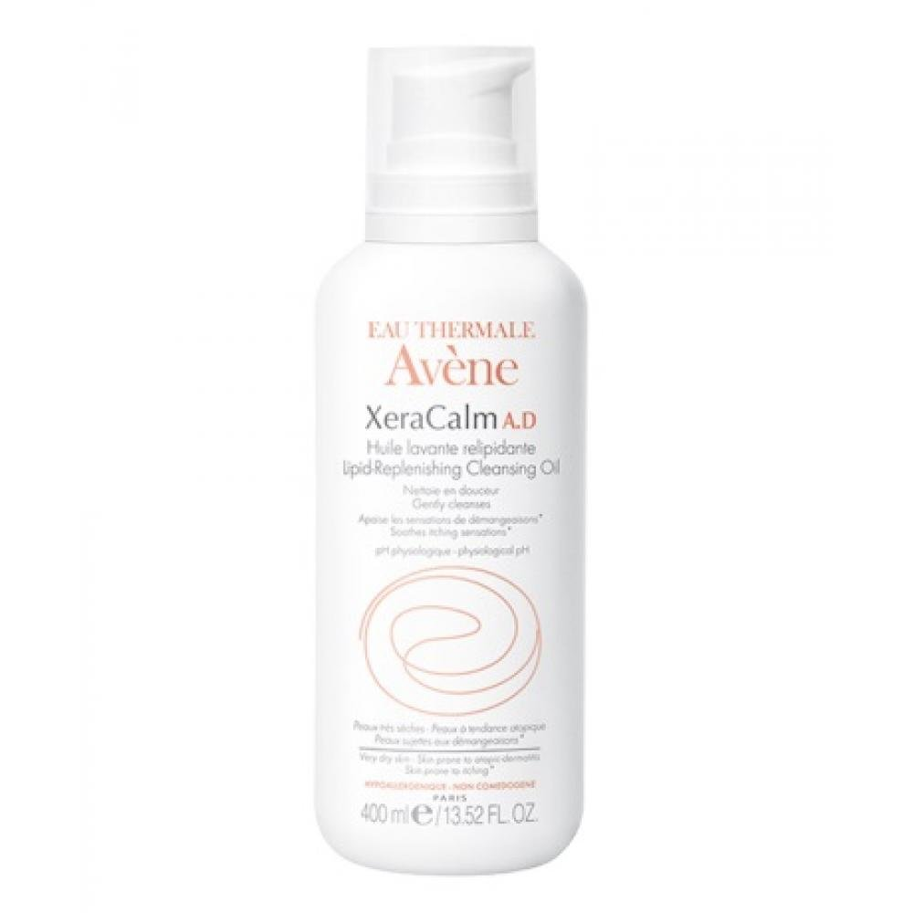 AVENE XeraCalm AD huile 400 ml - relipidační mycí olej