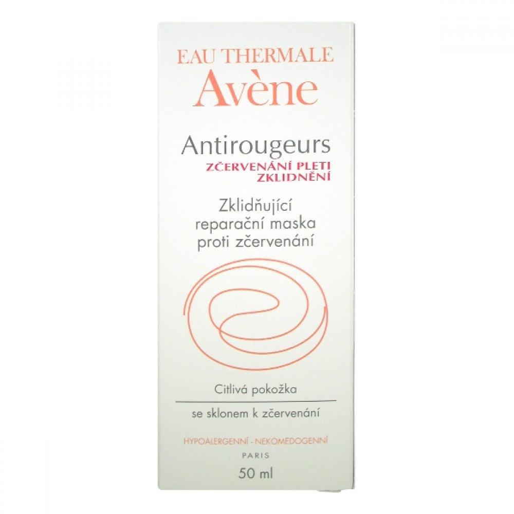 AVENE Antirougeurs Calm - Zklidňující reparační maska proti zčervenání 50 ml