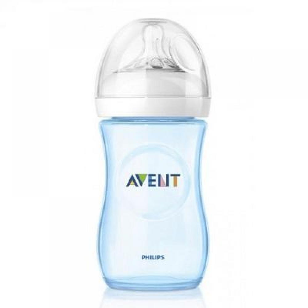 AVENT Láhev 260 ml Natural modrá