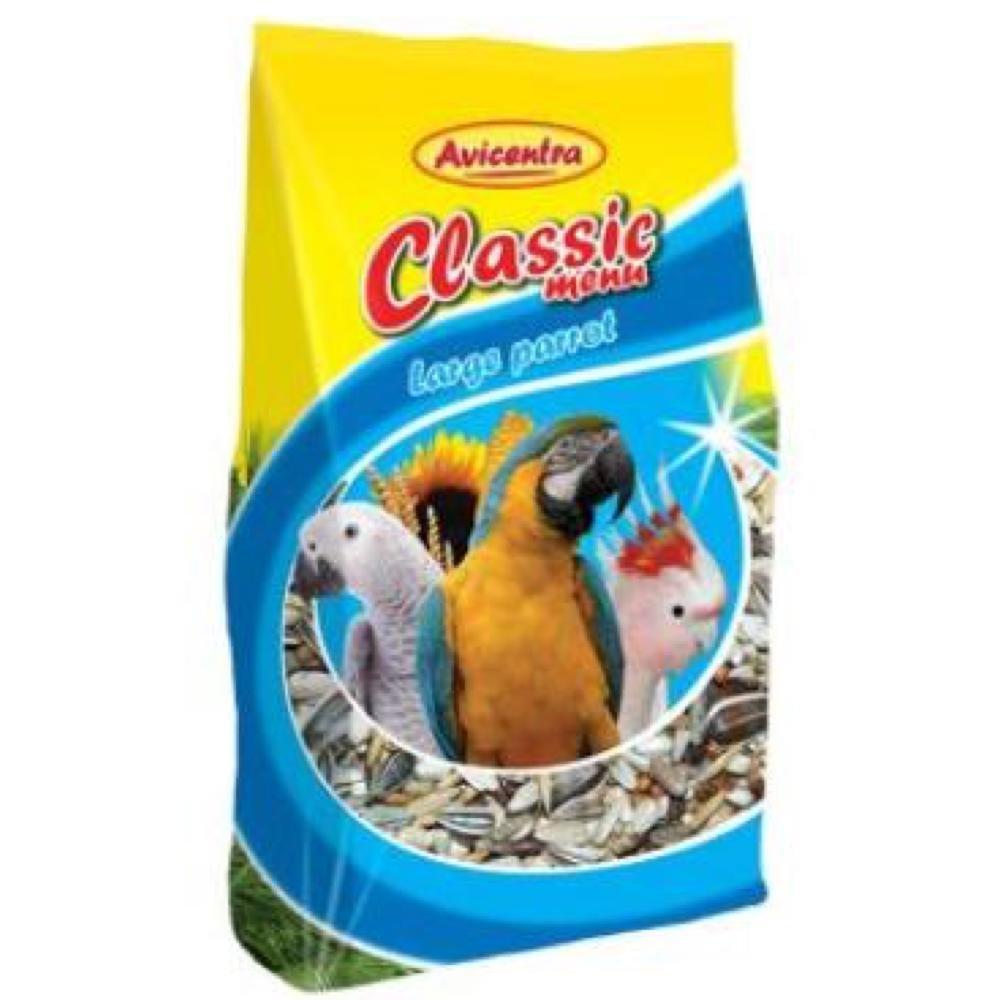 AVICENTRA Classic Menu Velký Papoušek 800 g