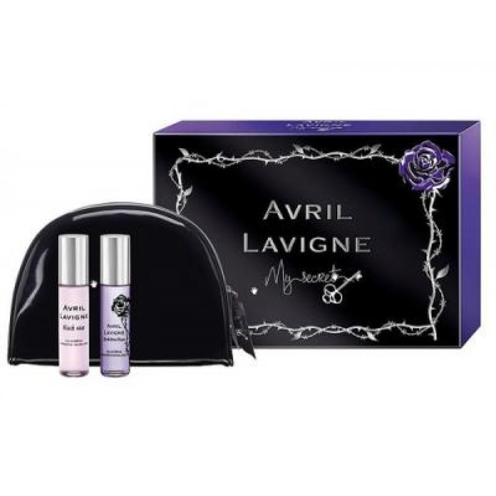 Avril Lavigne My Secret Parfémovaná voda 2x10ml 10ml Black Star + 10ml Forbidden Rose