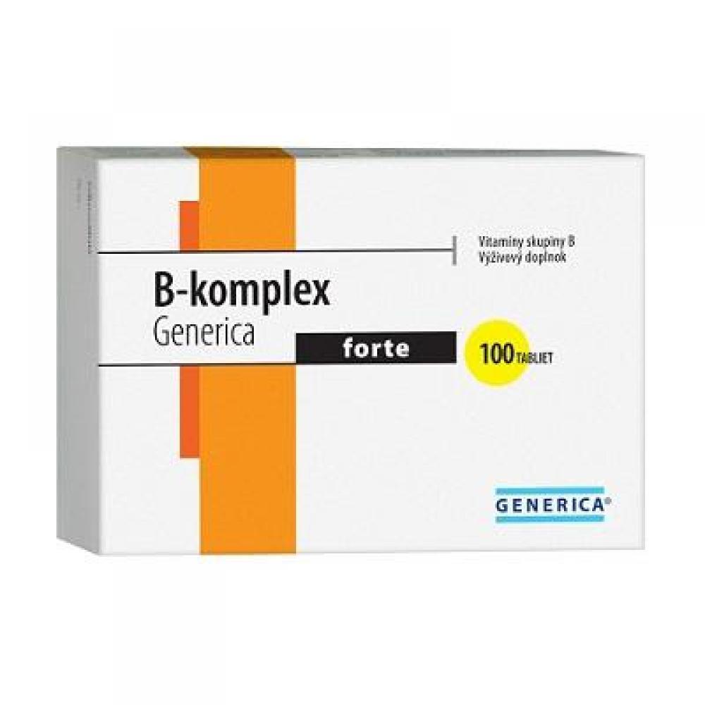 GENERICA B-komplex forte 100 tablet