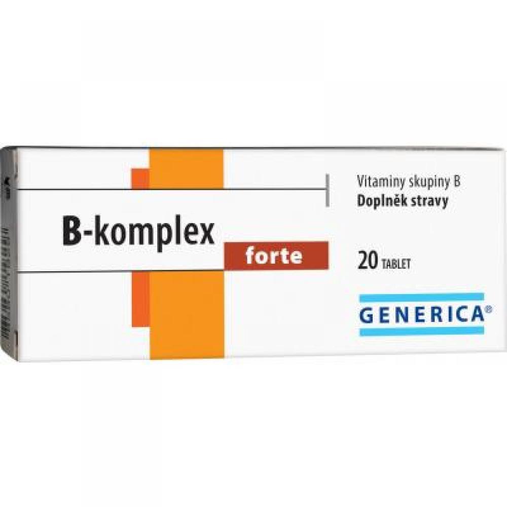 GENERICA B-komplex forte 20 tablet