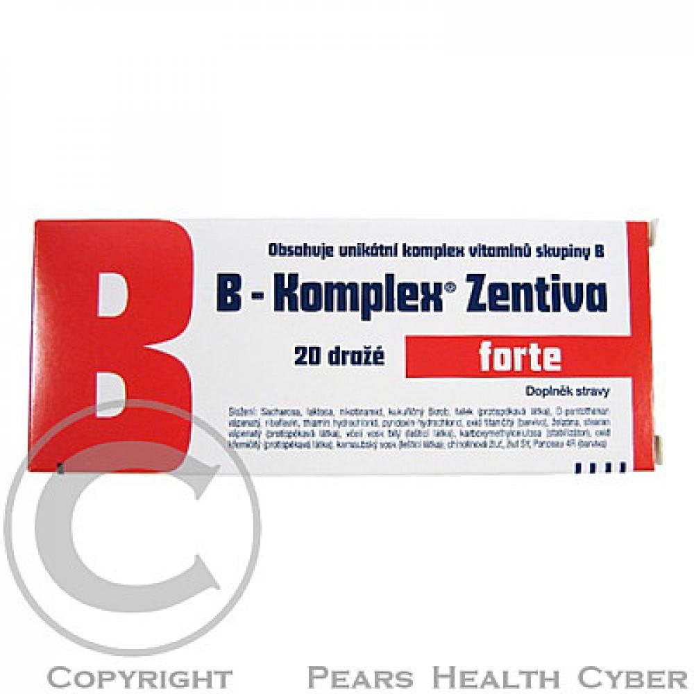 ZENTIVA B-Komplex forte 20 dražé