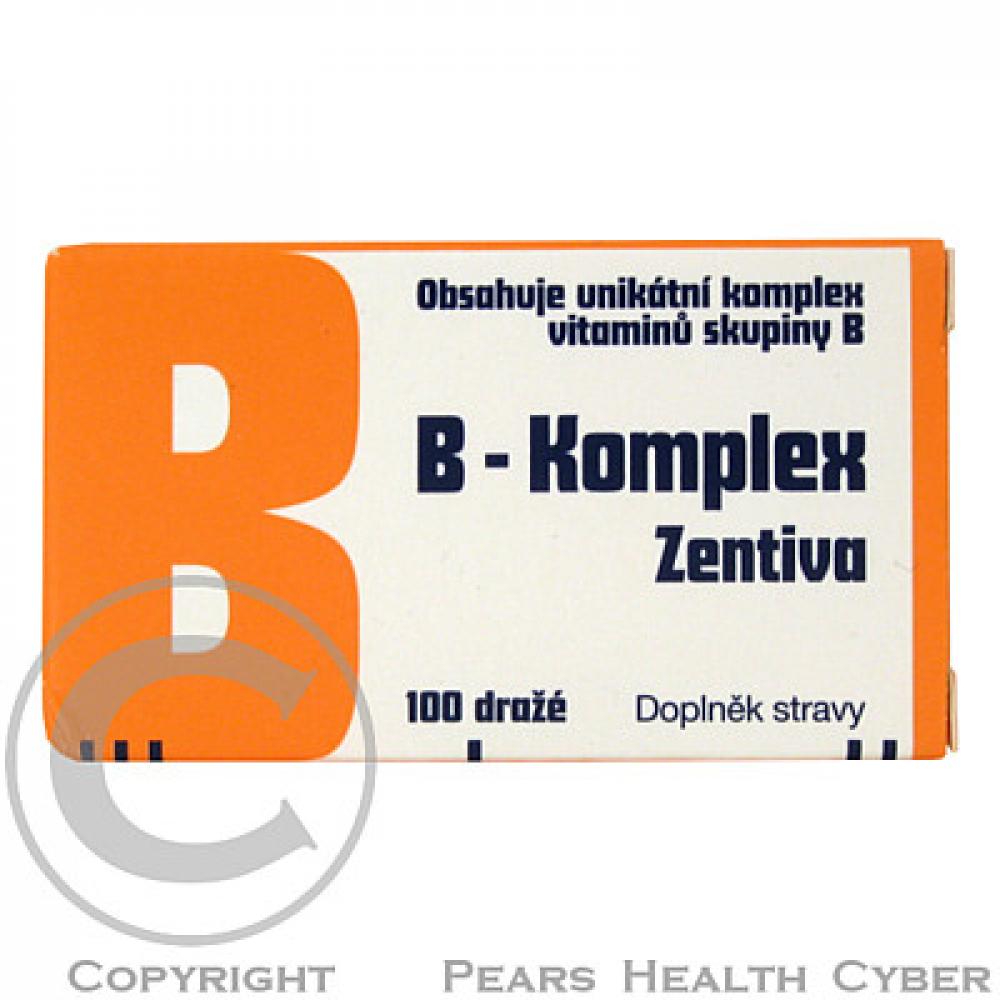 ZENTIVA B - komplex 100 dražé