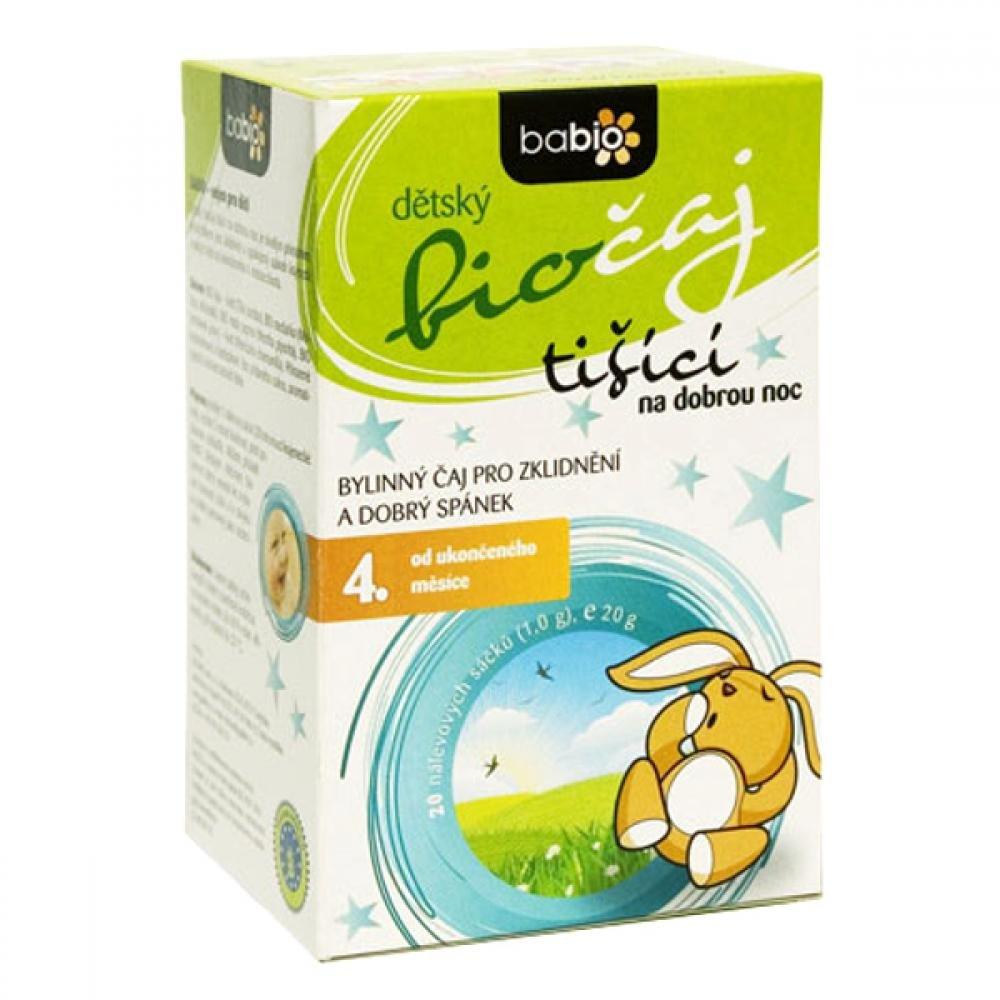 BABIO Dětský tišící biočaj n.s. 20x1 g