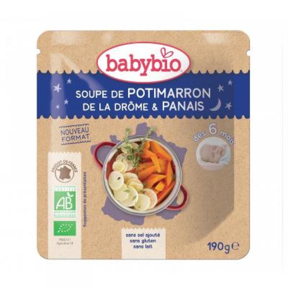 BABYBIO dýňová polévka s pastinákem 190 g